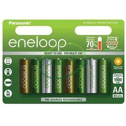8 x akumulatorki Panasonic Eneloop Tones Botanic R6/AA 2000mAh (blister)