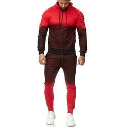dres mĘski -czerwony 52005-2