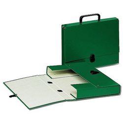 Teczka tekturowa z rączką, grzbiet 40mm zielona Esselte 99336
