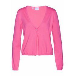 Sweter rozpinany z ozdobnymi elementami bonprix antracytowy melanż