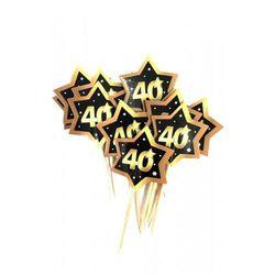 Wykałaczki, pikery na 40 urodziny Gwiazdy