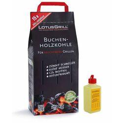 LotusGrill - mały zestaw startowy (1kg węgla + 200 ml rozpałki)