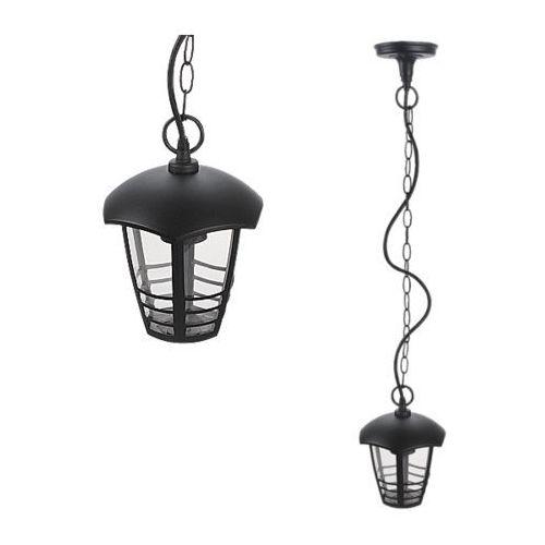 Lampy wiszące, Lampa wisząca zewnętrzna ogrodowa Rabalux Marseille 1x60W E27 IP44 czarna 8620