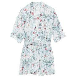 Szlafrok kimono bonprix z nadrukiem