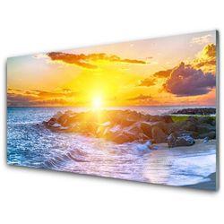 Obraz Akrylowy Zachód Słońca Morze Wybrzeże