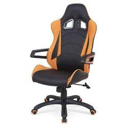 Gidran fotel gamingowy dla graczy czarno-pomarańczowy