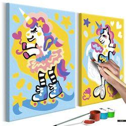SELSEY Zestaw do malowania Zabawne jednorożce