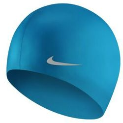 NIKE CZEPEK OS SOLID SILICONE CAP GAME ROYAL