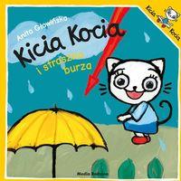 Książki dla dzieci, Kicia Kocia i straszna burza (opr. broszurowa)