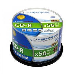 CD-R ESPERANZA SILVER x56 700MB - CAKE BOX 50 SZT.