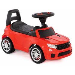 Jeździk, autko, land rover, SuperCar z panelem muzycznym, czerwony darmowa dostawa