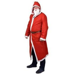 Kostium płaszcz Świętego Mikołaja - roz. un.