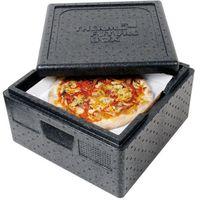 Kosze i pojemniki gastronomiczne, Pojemnik termoizolacyjny do pizzy 410x410x330 mm | THERMO FUTURE BOX, 057301