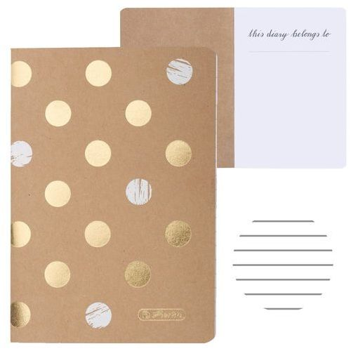 Notesy, Notatnik Notes A6 16k My.Book Pure Glam HERLITZ