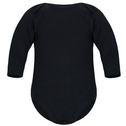 Dziecięce body długi rękaw czarne