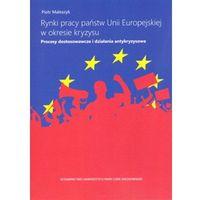 Książki o biznesie i ekonomii, Rynki pracy państw Unii Europejskiej w okresie kryzysu. (opr. miękka)