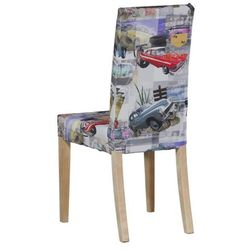 Dekoria Sukienka na krzesło Harry krótka, samochody retro, krzesło Harry, Freestyle do -30%