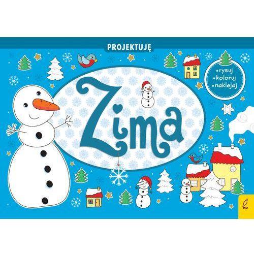Książki dla dzieci, Projektuję Zima - Praca zbiorowa (opr. broszurowa)
