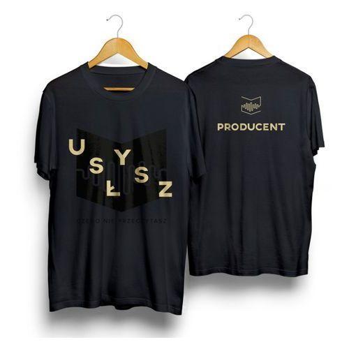 T-shirty męskie, T-SHIRT PRODUCENTA XXL męska