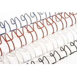 Grzbiety do bindowania drutowe, czarne, 11 mm, 100 sztuk, oprawa 66-80 kartek - Super Ceny - Rabaty - Autoryzowana dystrybucja - Szybka dostawa - Hurt