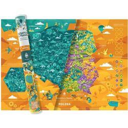 Mapa Zdrapka Polska Mapito Familijna