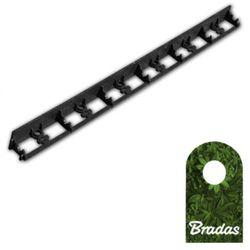 Obrzeże ogrodowe 58/1000mm TYP2 RIM-BORD-58 1m BLACK Bradas 0568
