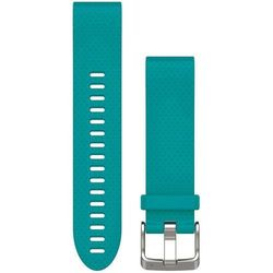 Garmin Pasek silikonowy Quick Fit 20mm Fenix 5S (turkusowy)