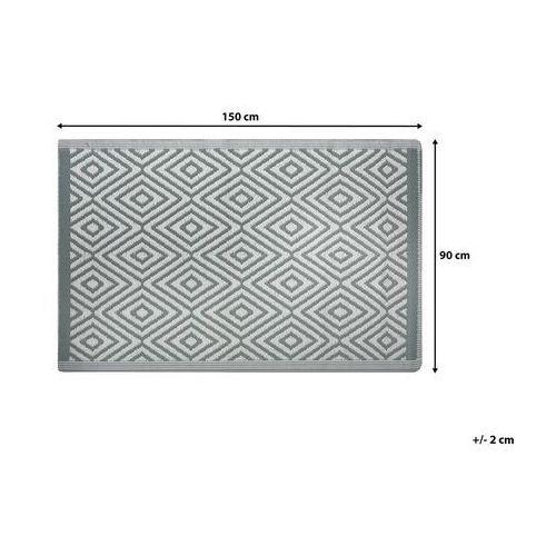 Dywany, Dywan na zewnątrz jasnozielony 90 x 150 cm SIKAR