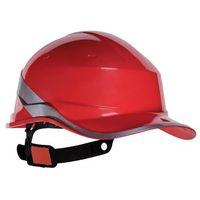 Ochronne nakrycia głowy, Kask ochronny DIAMOND V czerwony DELTA PLUS