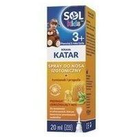 Preparaty do nosa, SOLKIDS KATAR Spray do nosa 20ml