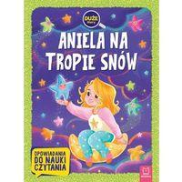 Książki dla dzieci, Aniela na tropie snów. duże litery. opowiadania do nauki czytania (opr. miękka)