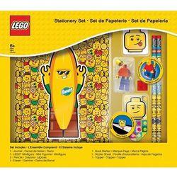 51145 ZESTAW ARTYKUŁÓW SZKOLNYCH Z ZESZYTEM - LEGO GADŻETY