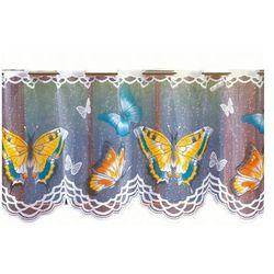 Firanka Zazdrostka gotowa Motylki 70x150 cm