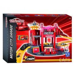 Garaż Motor City + 1 samochód - Majorette