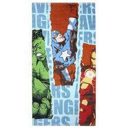 Kolorowy ręcznik kąpielowy / plażowy dla dzieci Avengers