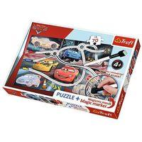 Puzzle, 70 ELEMENTÓW Puzzle + mazak Ekscytujący wyścig