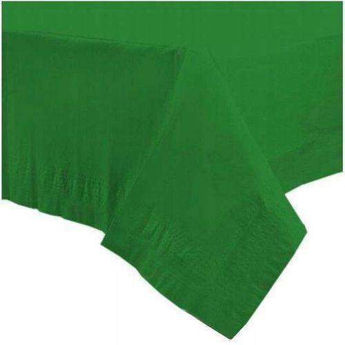 Obrusy, Obrus papierowy zielony - 137 x 274 cm - 1 szt.