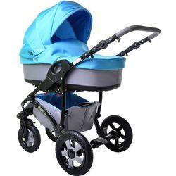 Sun Baby Wózek wielofunkcyjny Ibiza 2w1, niebieski - BEZPŁATNY ODBIÓR: WROCŁAW!