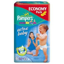 Pieluchy Pampers Active Baby (6) 16+kg - 66szt.
