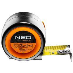 Miara zwijana NEO stalowa 3 m x 19 mm