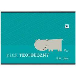 Blok techniczny INTERDRUK A4 BB Kids 10k biały