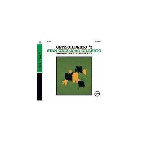 Pozostała muzyka rozrywkowa, LIVE AT CARNEGIE HALL 2 - Stan & Joao Gilberto Getz (Płyta CD)