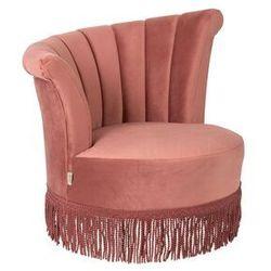 Fotel FLAIR różowy