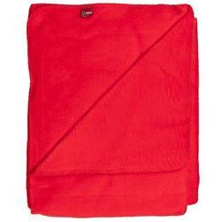 Dekoria Koc Cotton Cloud 150x200cm energetyczna czerwień, 150x200cm