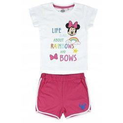 Disney piżama dziewczęca Minnie 98 biały/różowy