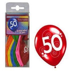 Balony z nadrukiem 50 - 30 cm - 12 szt.