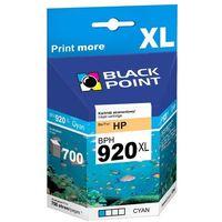 Tusze do drukarek, [BPH920XLC] Ink/Tusz Black Point | (HP CD972AE) cyan