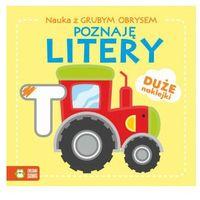 Książki dla dzieci, Poznaję litery. nauka z grubym obrysem (opr. miękka)