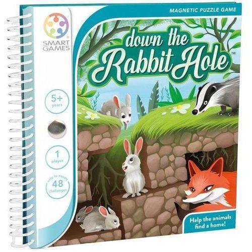 Gry dla dzieci, SmartGames - Down The Rabbit Hole (ENG) SMART