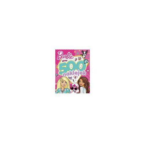 Książki dla dzieci, Barbie 500 naklejek - Jeśli zamówisz do 14:00, wyślemy tego samego dnia. Darmowa dostawa, już od 99,99 zł. (opr. miękka)
